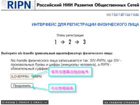 RU域名申请全套教程(免费顶级域名)